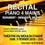 Piano 4 mains - Orchestre Régional de Normandie