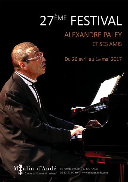 Affiche du Festival Paley 2017