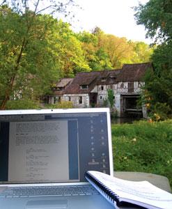 Ecrire au Moulin