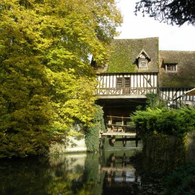 Le Moulin en automne